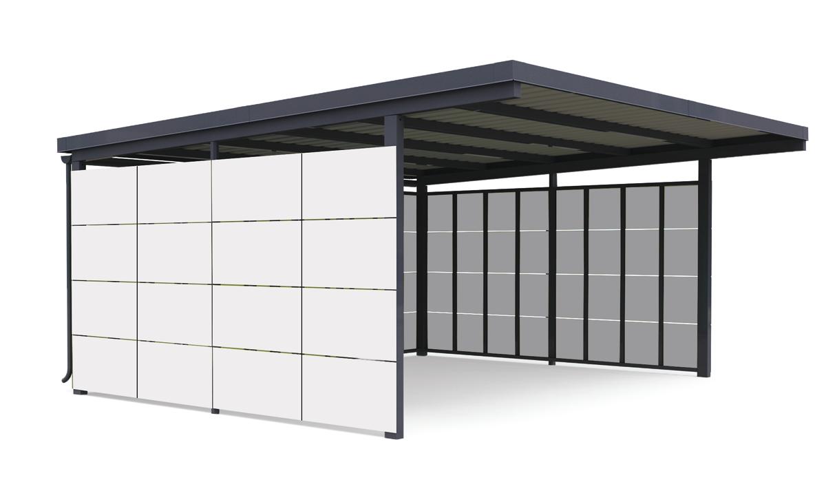 Carport Manufaktur-Bauweise
