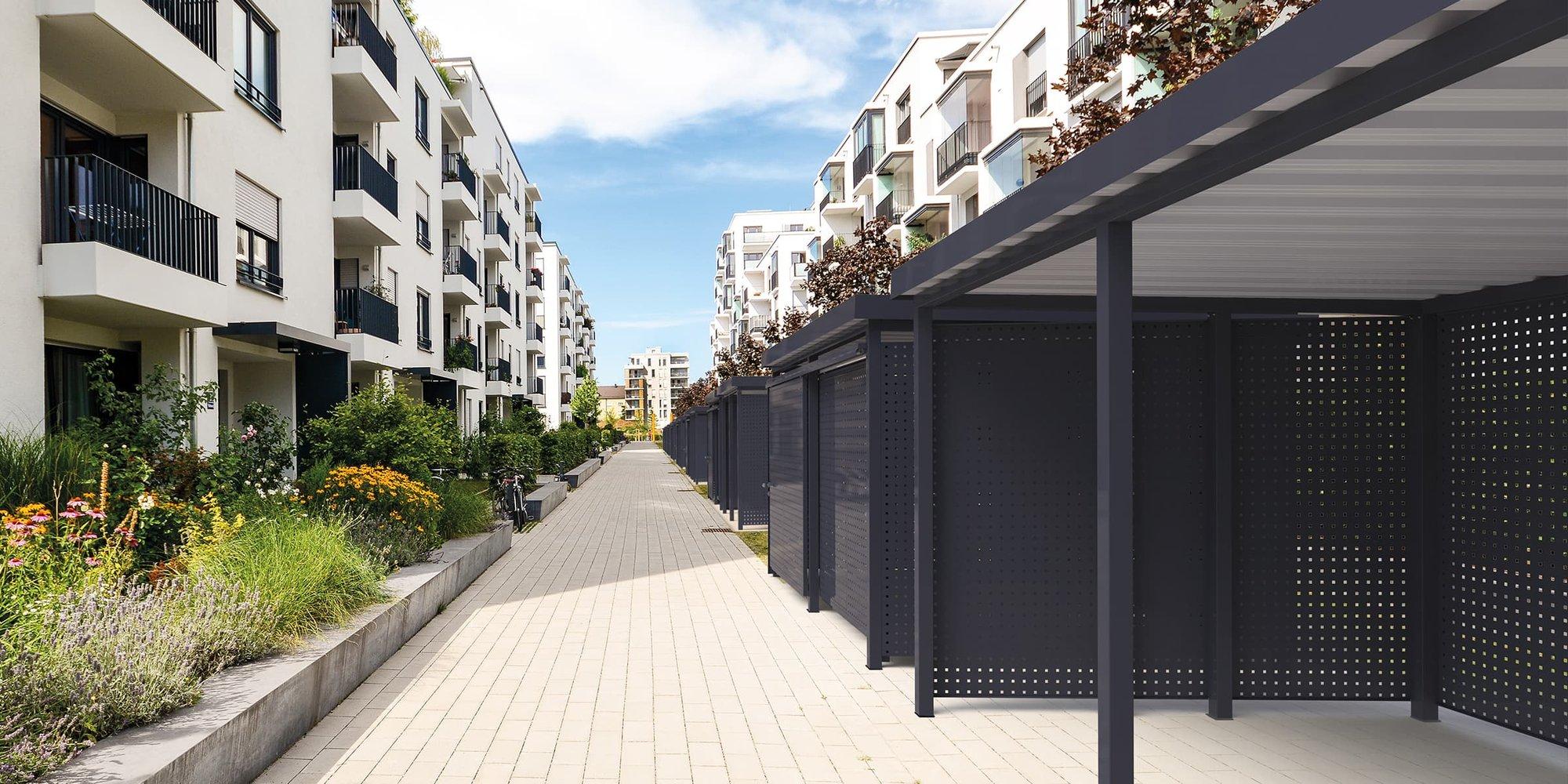 Einhausungen Produktseite