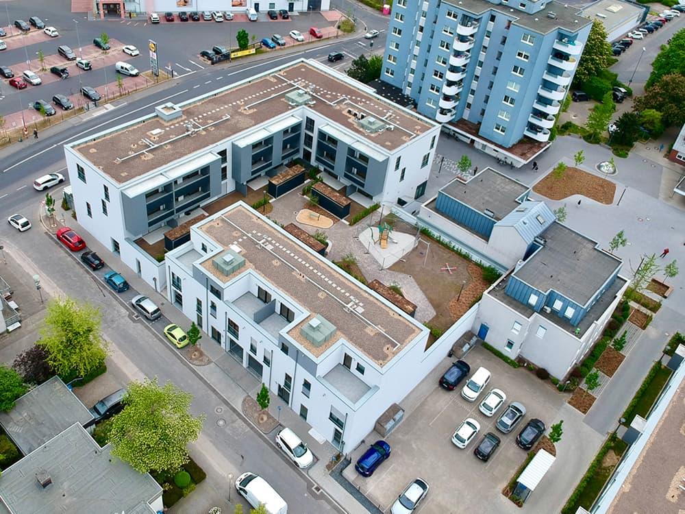 <h5>Gründächer als natürliches Element im urbanen Raum</h5>