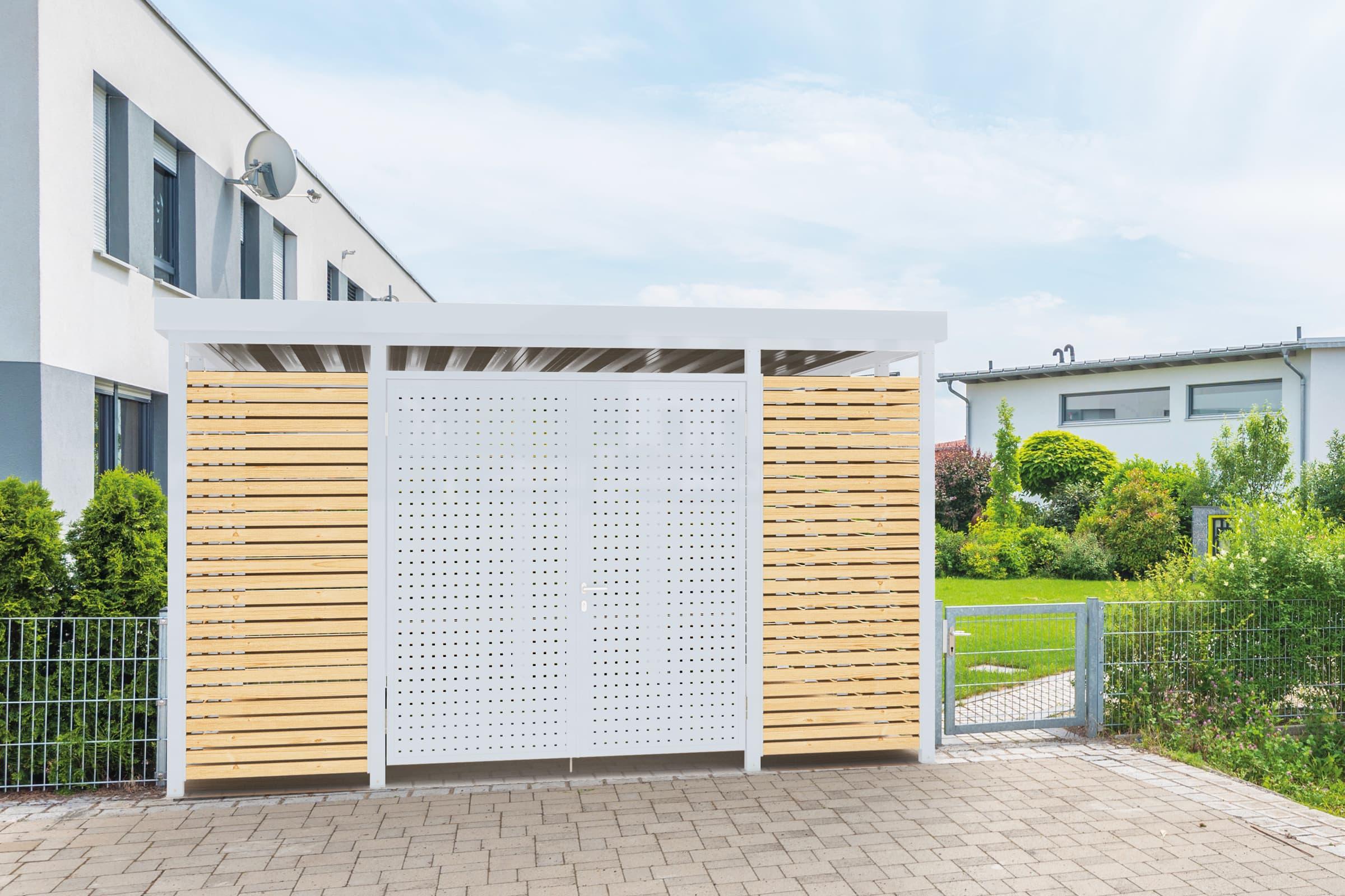 Einhausung Modul-Bauweise Holz QLB