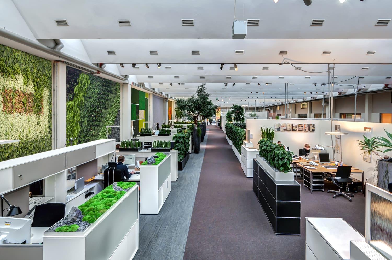 <h5>Open Space Konzept Zentrale Bietigheim-Bissingen</h5>